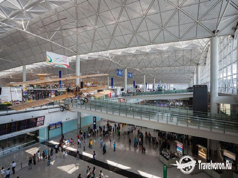 Гонконг аэропорт обмен валюты