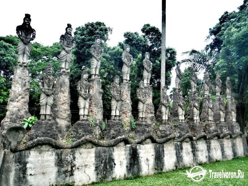 Будда Парк Ксиенгкуан (Xiengkuane Buddha Park)