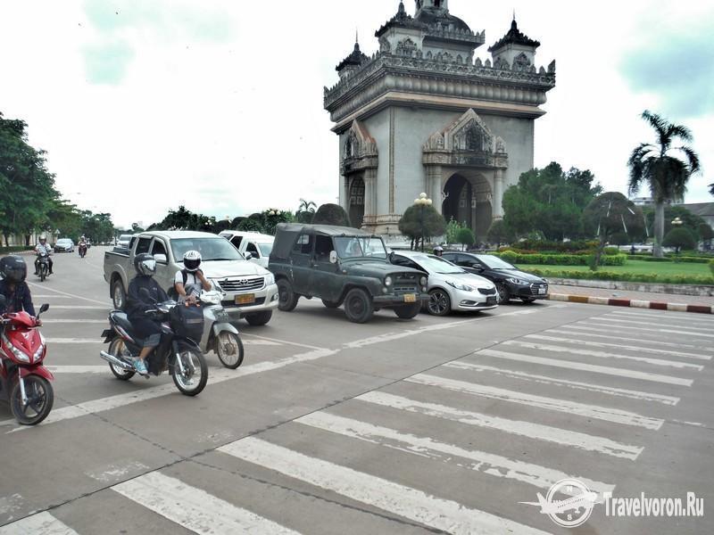 Прогулки по Вьентьяну